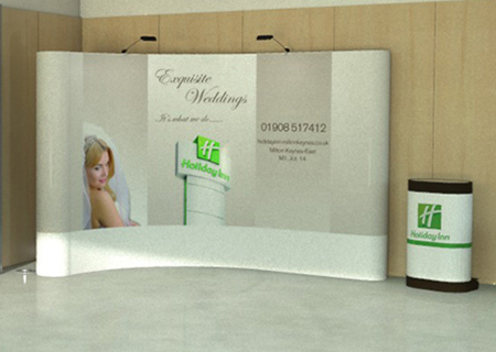 Pop up Stand and Pop up Displays from Rap Industries