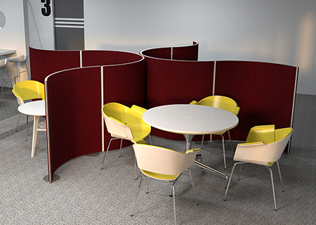 Pinnable Office Screens from Rap Industries