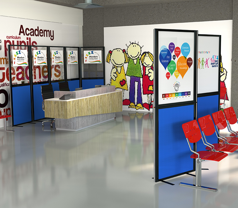 Morton Acoustic Office Screens, ideal for any environment where noise reduction is needed