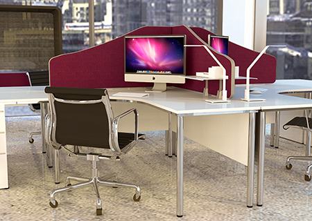 Office Partitions and Office Screens available from Rap Industries