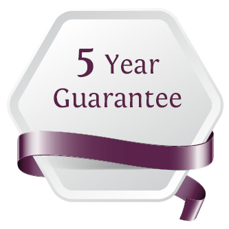 5 Year Manufacturing Guarantee